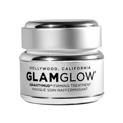 GlamGlow Gravitymud Black Glitter Face Mask - 50g