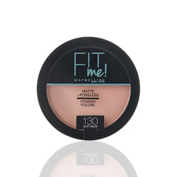 Maybelline Fit Me Matte + Poreless Powder - N 130 - Buff Beige