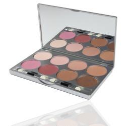 Kryolan - Glamour Glow Palette Blush - 8 Colors - Bridal