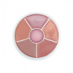 Kryolan Lip Rouge Wheel 6 Colors