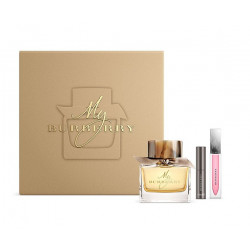 Burberry My Burberry Eau De Perfume With Make Up Coffret