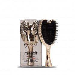 My Hair - Hair Brushes - Small - Gold
