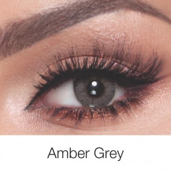 Bella - Contact Lenses - Elite Amber Grey - Monthly
