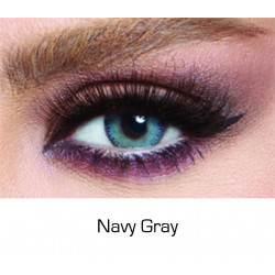 Bella - Contact Lenses Glow - Navy Gray - Monthly
