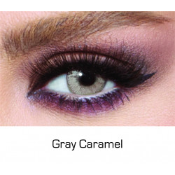 Bella - Contact Lenses Glow - Gray Caramel - Monthly