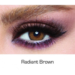 Bella - Contact Lenses Glow - Radiant Gray - Monthly