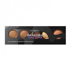 Loreal Paris - Infallible Total Cover Concealer Palette - Dark