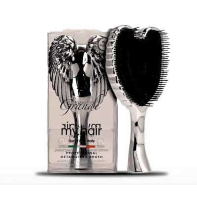 My Hair - Brush Grande - Silver Chrome