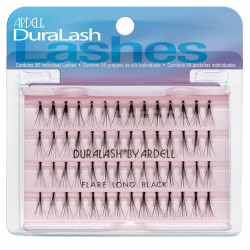Ardell - Dura Lash Individual Long Flare Eye Lashes - N 56 - Black