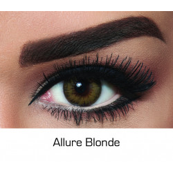 Bella - Contact Lenses Diamond - Allure Blond - Monthly