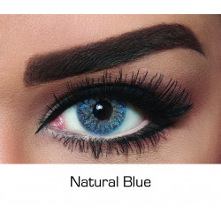Bella - Contact Lenses - Natural Blue - Monthly