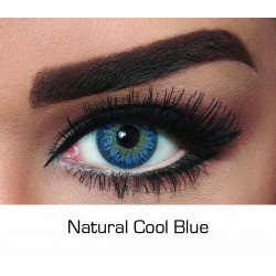 Bella - Contact Lenses - Natural Cool Blue - Monthly