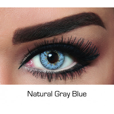Bella - Contact Lenses - Natural Gray Blue - Monthly