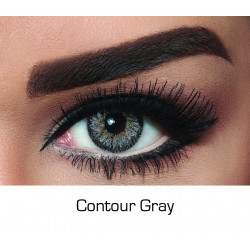 Bella - Contact Lenses - Contour Gray - Monthly