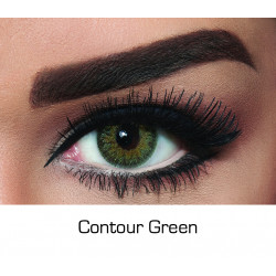 Bella - Contact Lenses - Contour Green - Monthly