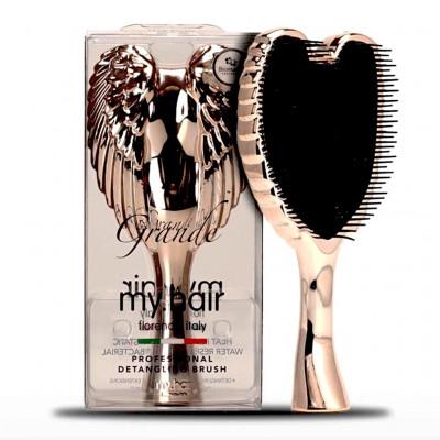 My Hair - Hair Brushes - Big - Rose Gold
